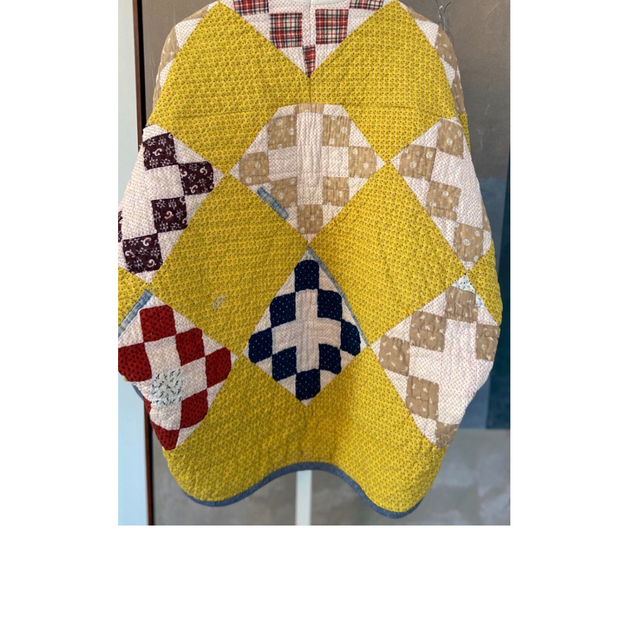 Bespoke Quilt Jacket Yellow