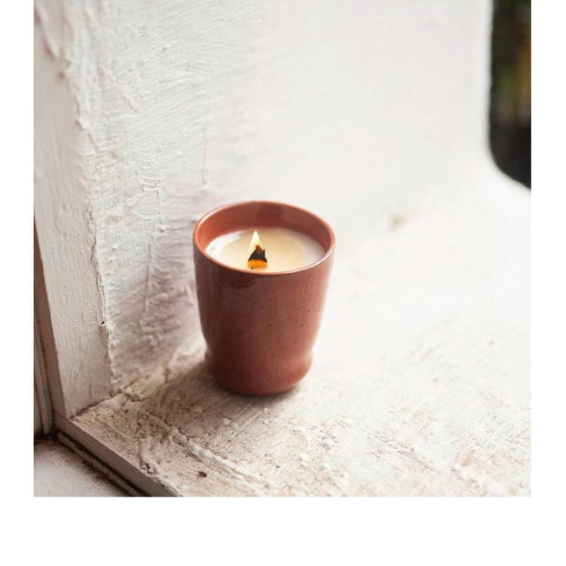 White Rose + Quince Candle