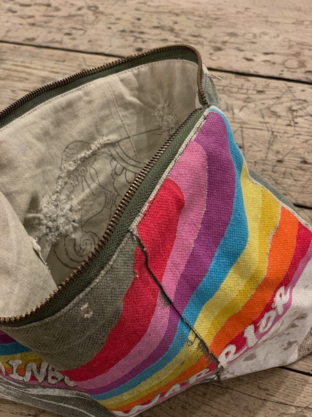 Rainbow Warrior Zip Bag