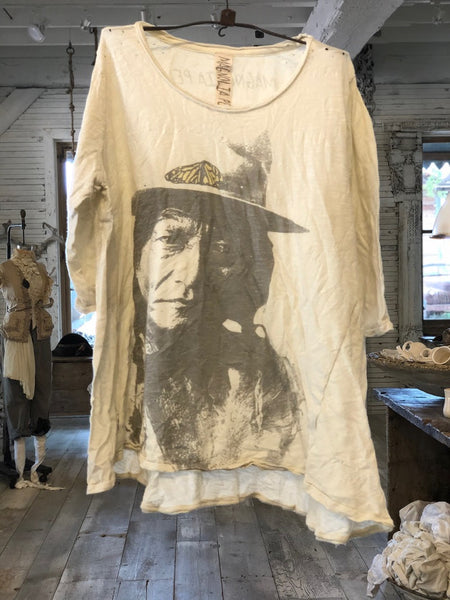 Sitting Bull Monarch Tee