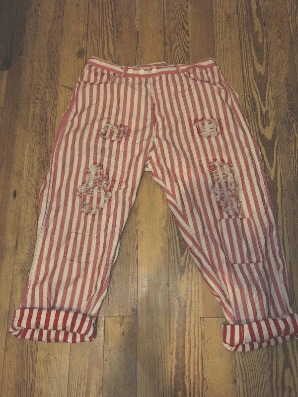 Big Top Red Pants