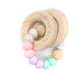 UNICORN Wooden & Silicone Rattle