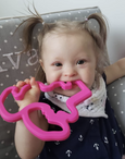 flamingo teething toy