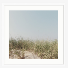 """Dunes""  with white mat and frame."