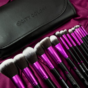 Photo Chic 15pc Synthetic Brush Set