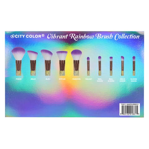 Vibrant Rainbow Brush Collection - Limited Edition