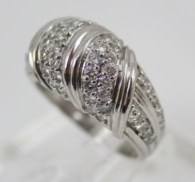 White Platinum Diamond Fashion Ring