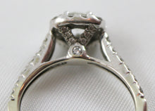 Lady's White Gold 14 Karat Diamond Engagement Ring