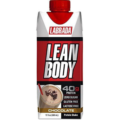 Labrada Nutrition Lean Body RTD Whey Protein Shake (Pack of 12) - The Protein Chef