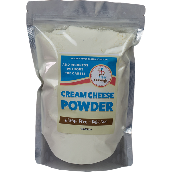 Better Cravings Gluten Free Cream Cheese Powder - The Protein Chef