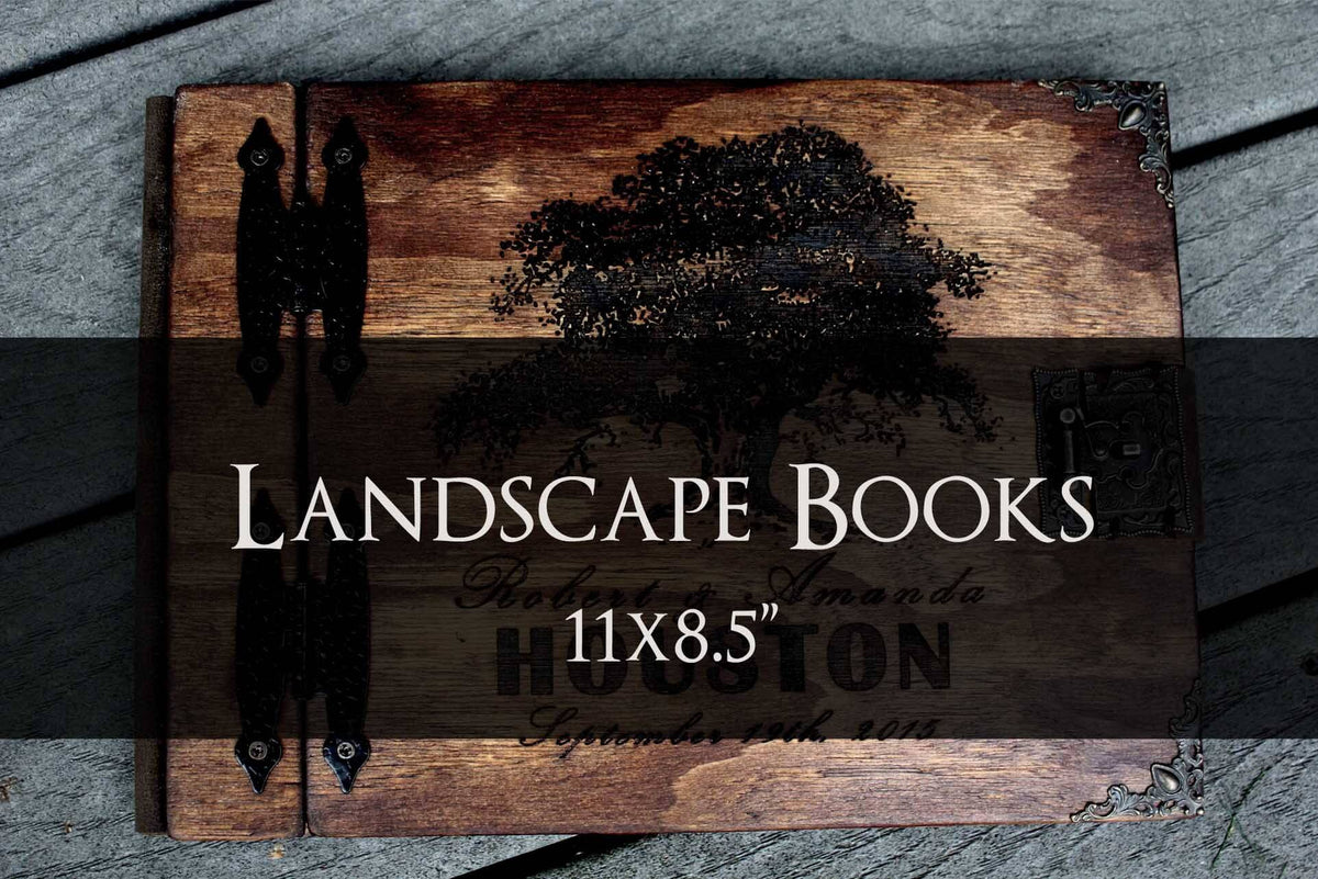 Landscape Wooden Books