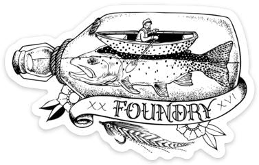Keep Em' Soggy - Fly Fishing Sticker - Foundry Fishing