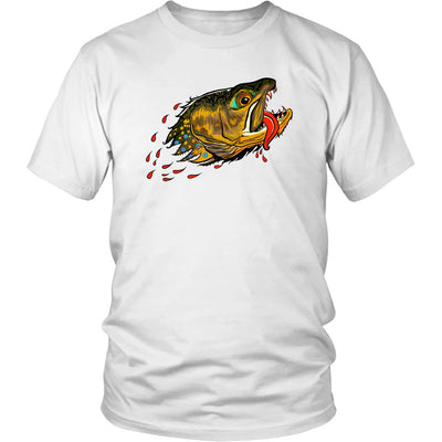Badgers Water Wolf - Brook Trout Tee - Foundry Fishing
