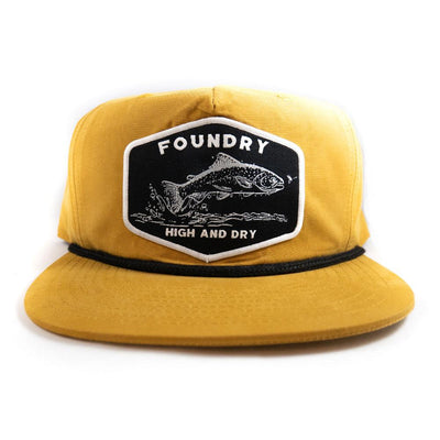 High & Dry  - Relaxed Snapback - Foundry Fishing