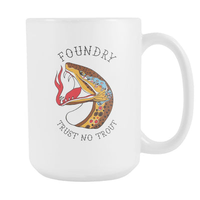 Trust No Trout - Coffee Mug - Foundry Fishing