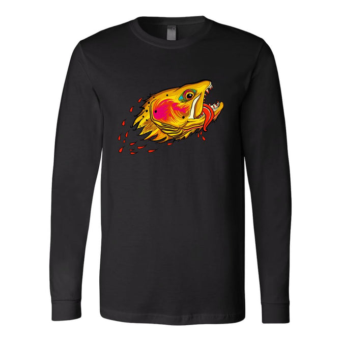 Badgers Water Wolf - Cutthroat Trout - Long Sleeve - Foundry Fishing