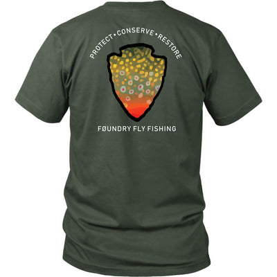 The Parks  - Brook Trout Tee - Foundry Fishing