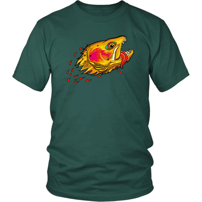 Badgers Water Wolf - Cutthroat Trout Tee - Foundry Fishing