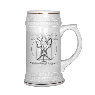 Vitruvian Trout - Beer Stein - Foundry Fishing