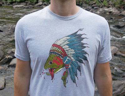 Respect The Natives - Screen Printed T-Shirt - Foundry Fishing
