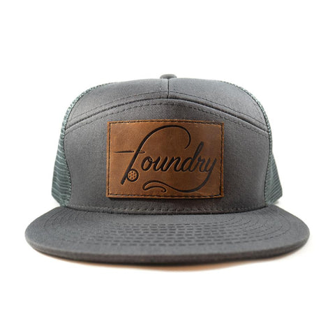 7 Panel Trucker Hat - Foundry Fishing