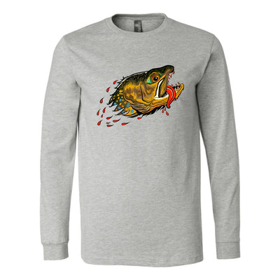 Badgers Water Wolf - Brook Trout - Long  Sleeve - Foundry Fishing