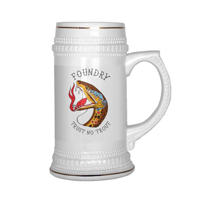 Trust No Trout - Beer Stein - Foundry Fishing