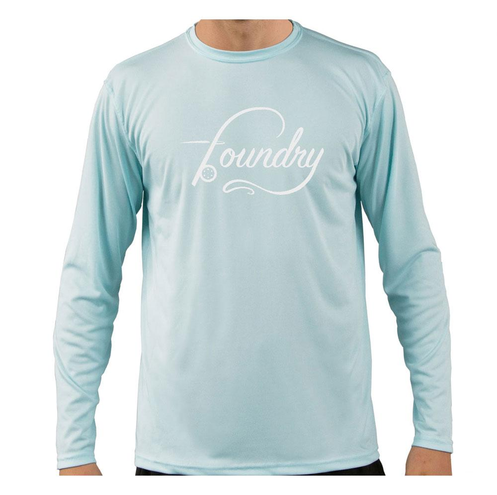 Gulf Blue - UPF 50+ Long Sleeve - Fly Fishing Shirt - Foundry Fishing