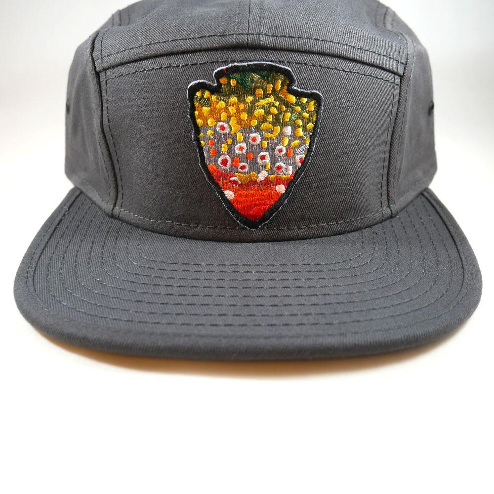 The Parks - Pick Your Patch - Fly Fishing Hat - Foundry Fishing