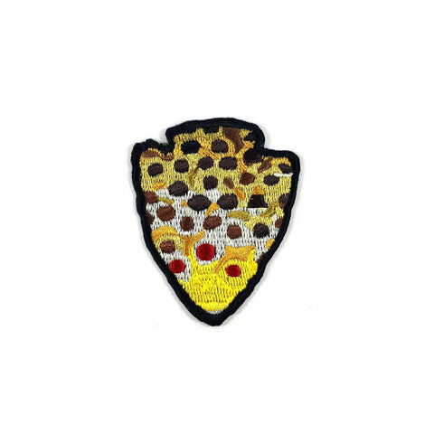 The Parks - Brown Trout - Iron On Fly Fishing Patch - Foundry Fishing