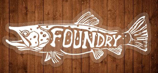 Frenzy Clear Water Sticker - Foundry Fishing