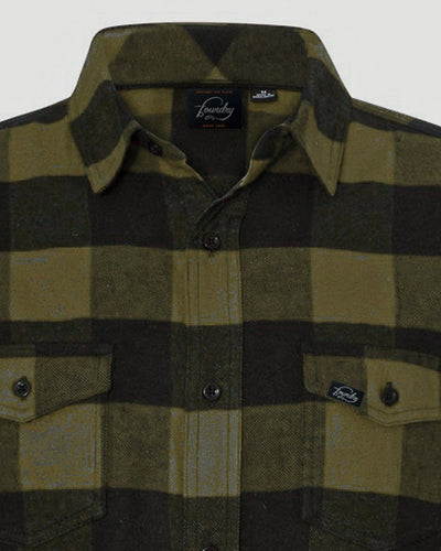 Green Drake -  Button Up Flannel