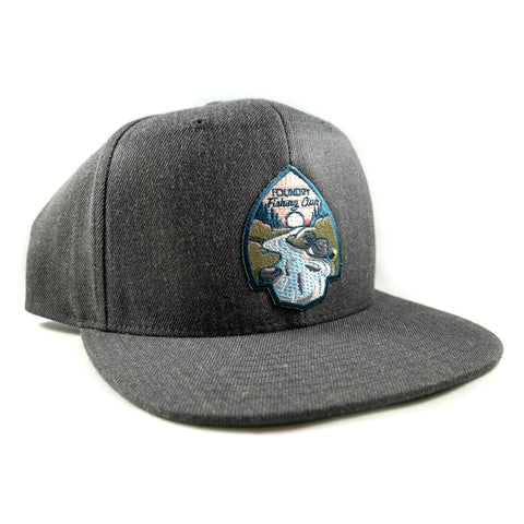 Foundry Fishing Club - Snapback Hat - Foundry Fishing