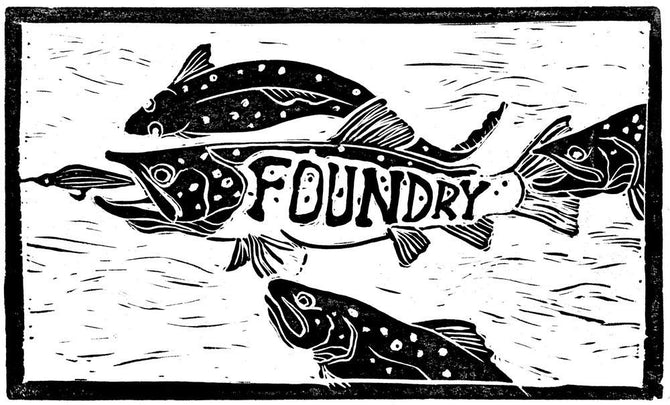 Foundry Frenzy Print - Foundry Fishing