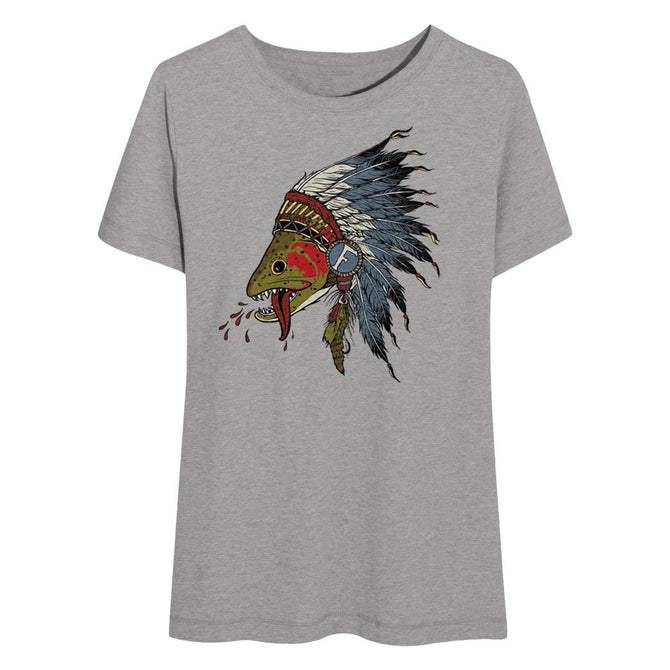 Respect The Natives - Womens T-Shirt - Foundry Fishing