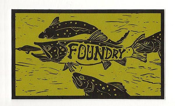 Foundry Frenzy Sticker - Foundry Fishing