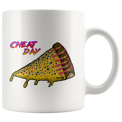 Cheat Day - Brown Trout -  Fly Fishing Coffee Mug