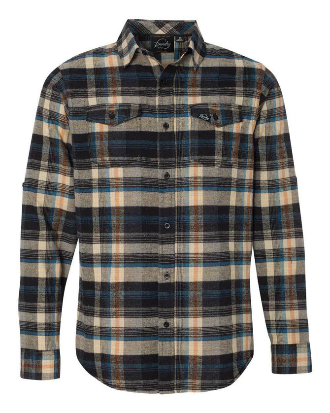 River Rock  -  Button Up Flannel - Foundry Fishing