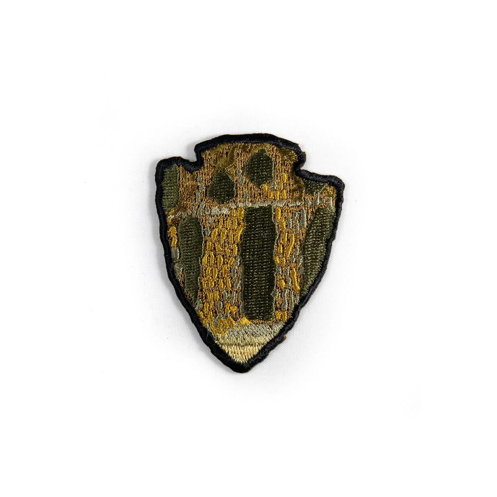 The Parks - Smallmouth  - Iron On Fly Fishing Patch - Foundry Fishing