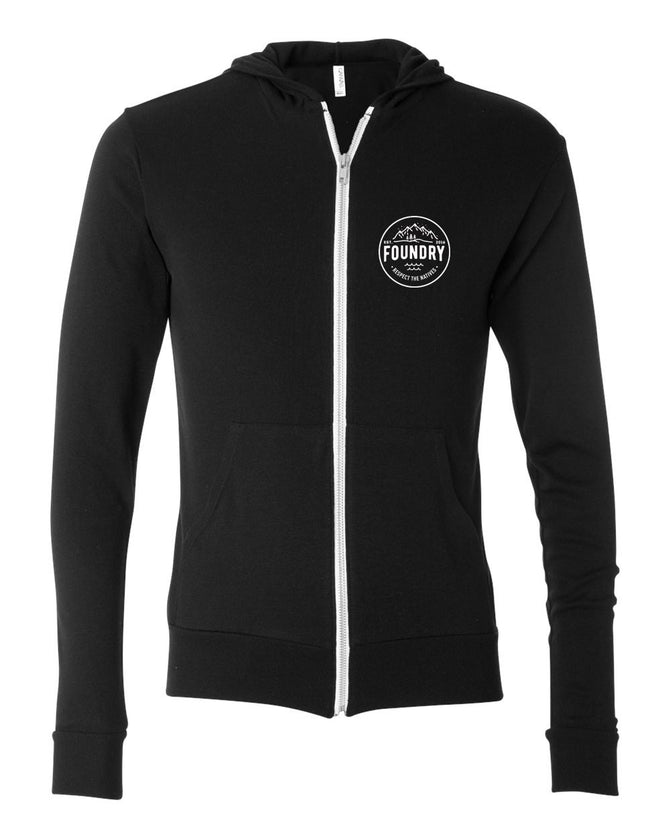 Respect The Natives - Hoodie Zip-Up - Foundry Fishing