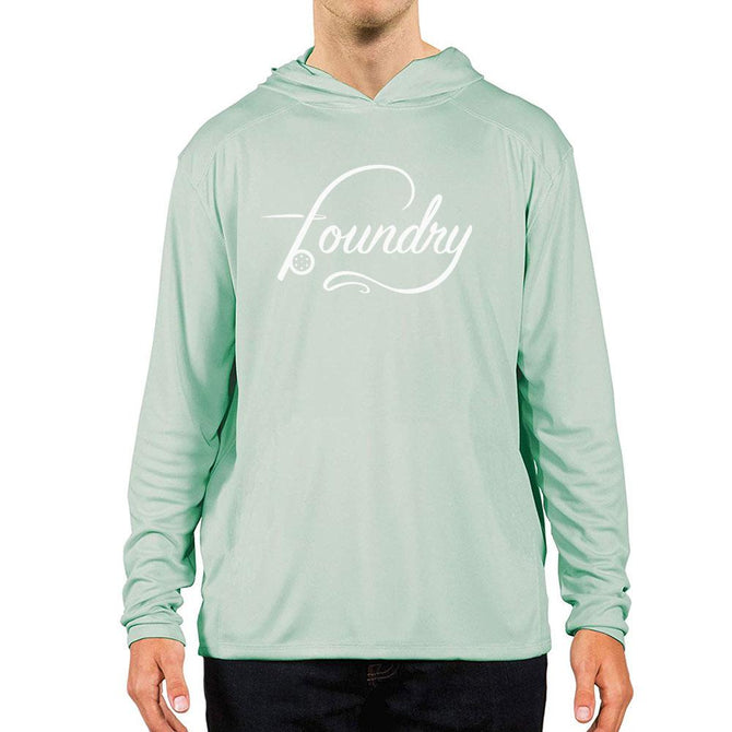Sea Grass - UPF 50+ Long Sleeve - Fly Fishing Hoodie - Foundry Fishing