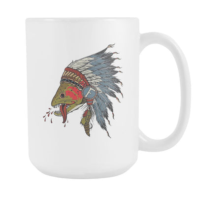 Respect The Natives - Coffee Mug - Foundry Fishing