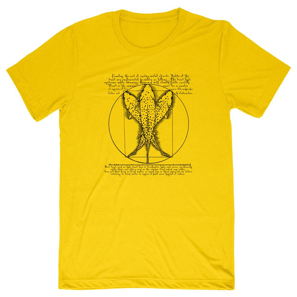 The Vitruvian Trout - Color Options - Fly Fishing Shirt - Foundry Fishing