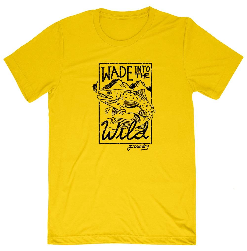 Wade Into The Wild Shirt - Color Options - Fly Fishing Shirt - Foundry Fishing