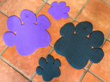 Non-Slip Dog Paw Feeding Mats - Small