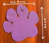 Non-Slip Dog Paw Feeding Mats - Large