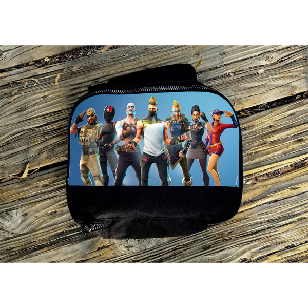 Fortnite Color Character Insulated Lunch Bag