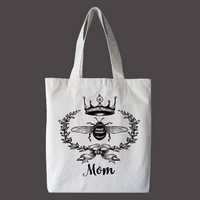 Queen Bee Personalized Tote Bag, Custom Bag