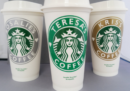 Starbucks ReUsable Cup Personalized, Custom Cup