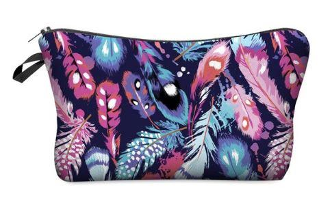 Feather Makeup Bag